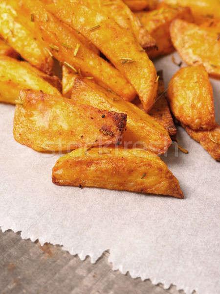 ジャガイモ 辛い 白 高速 甘い ストックフォト © andreasberheide