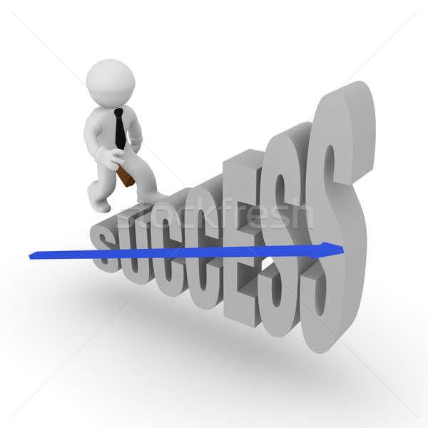 Success Stairs Stock photo © andreasberheide