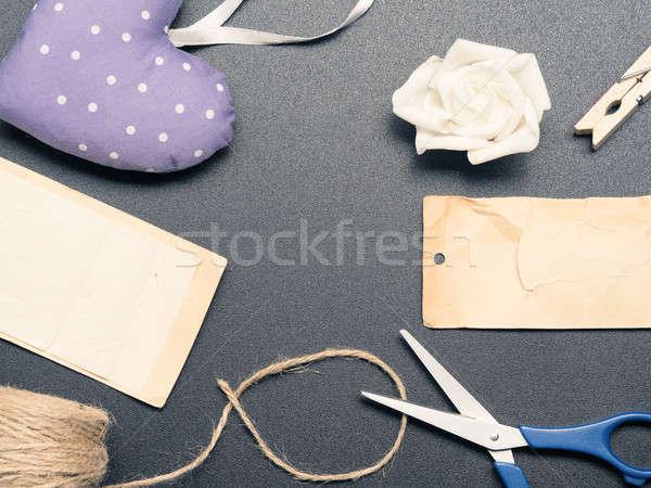 Different utensils on a table Stock photo © andreasberheide