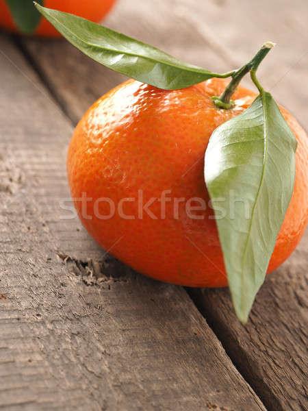 Close up of orange fruit Stock photo © andreasberheide
