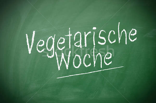 German vegetarian week concept Stock photo © andreasberheide