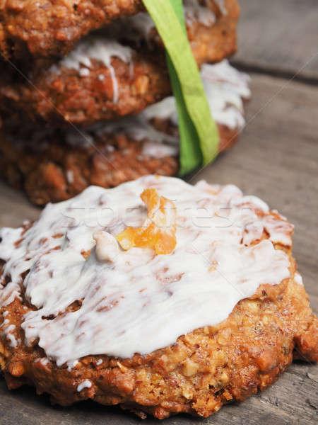 全体 穀物 クッキー オレンジ ストックフォト © andreasberheide