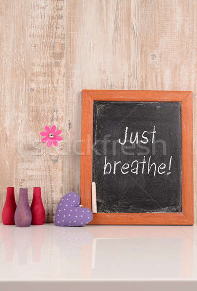 Just breathe! Stock photo © andreasberheide