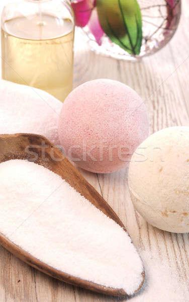 Bath salt Stock photo © andreasberheide