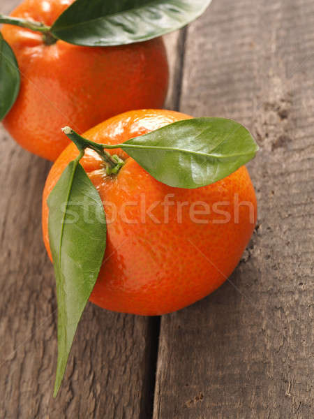 Fresh organic orange fruits Stock photo © andreasberheide