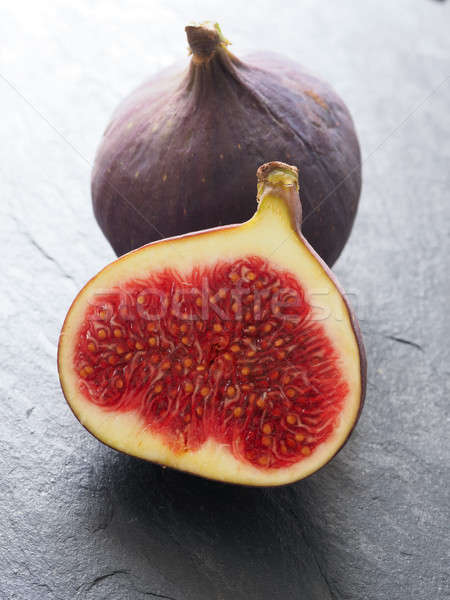 Closeup of fresh organic figs Stock photo © andreasberheide