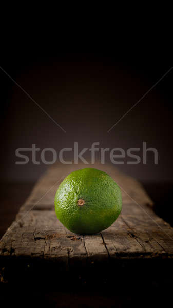Fresh organic lime fruit Stock photo © andreasberheide