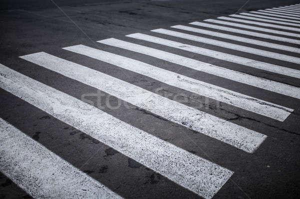 никто черно белые бизнеса автомобилей текстуры Сток-фото © andreonegin