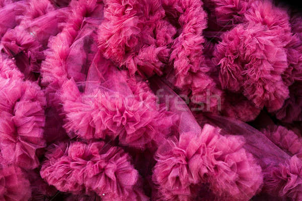 closeup of a pink tulle background Stock photo © andreonegin