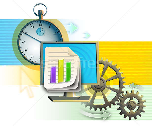 Workflow Stock photo © Andreus
