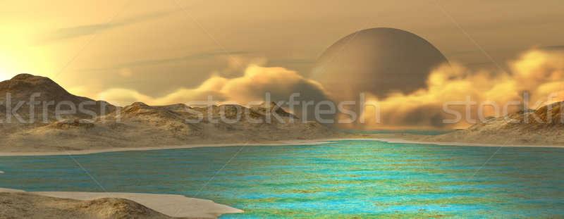 Fantasy landscape Stock photo © Andreus
