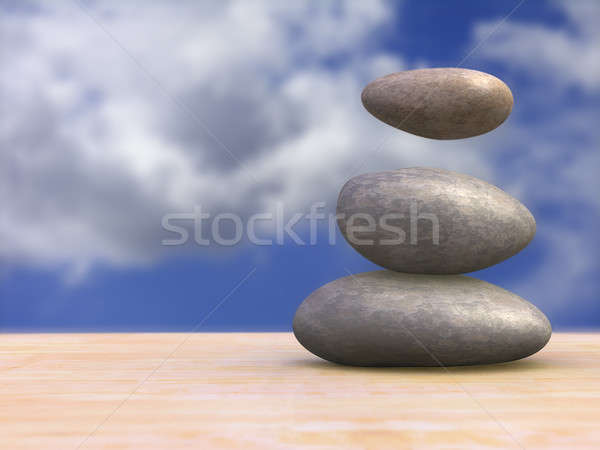 Magical stones Stock photo © Andreus