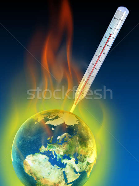 Global warming Stock photo © Andreus