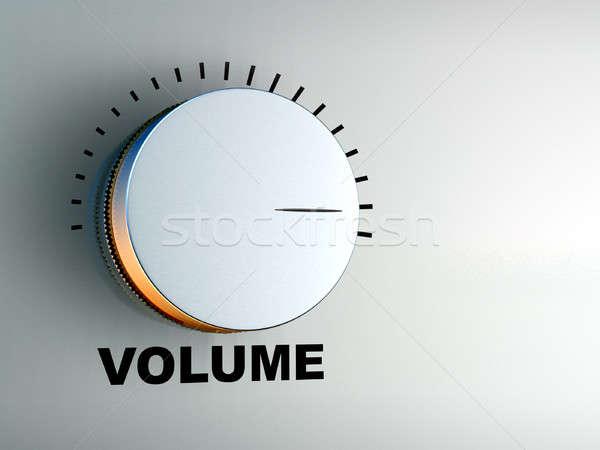 Volumen de audio ilustración digital tecnología Foto stock © Andreus