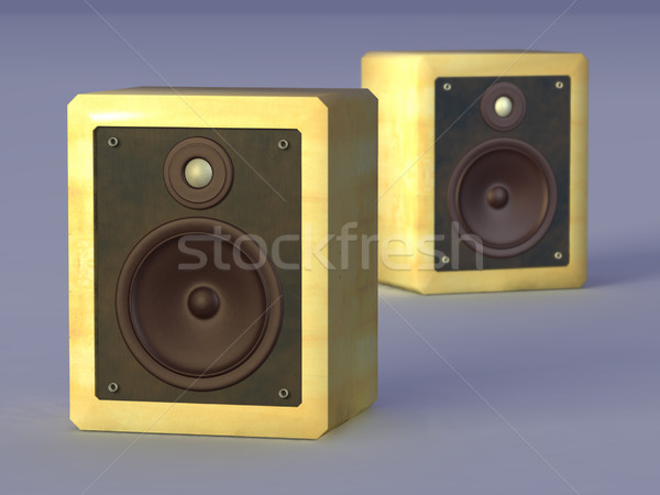 Hi-fi speakers Stock photo © Andreus
