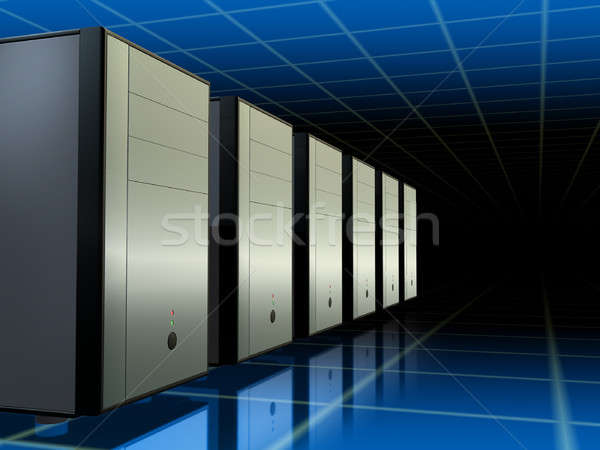 Servers network Stock photo © Andreus