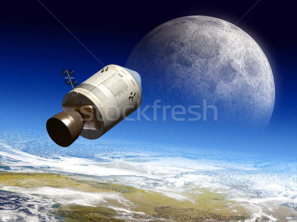 Moon travel Stock photo © Andreus