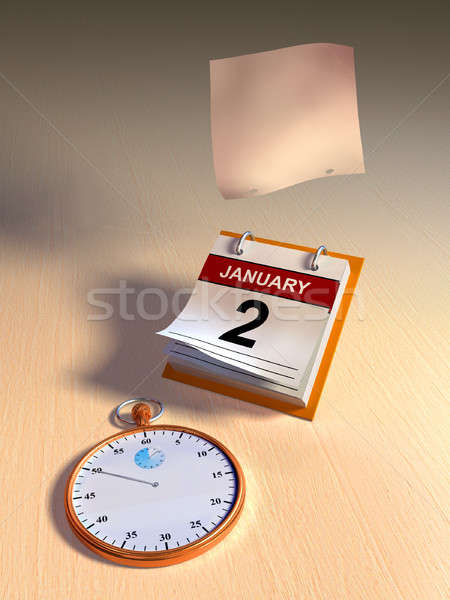 Time flying Stock photo © Andreus