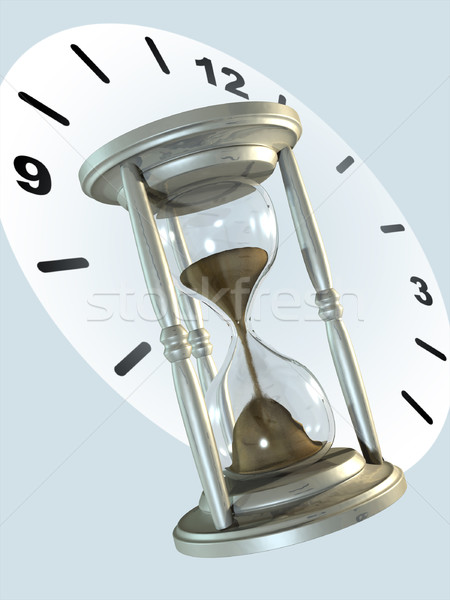Hourglass Stock photo © Andreus