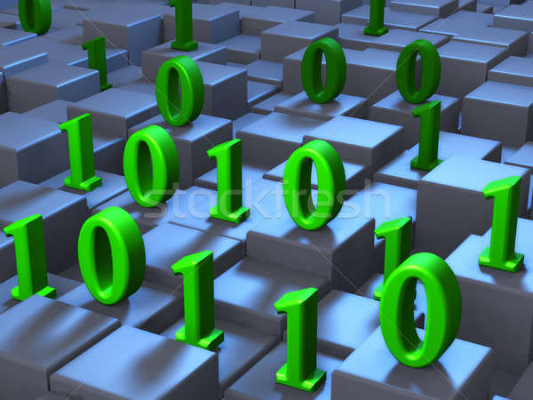 Binary sequence Stock photo © Andreus