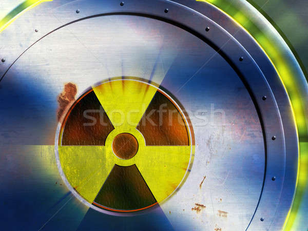 Radioactive danger Stock photo © Andreus