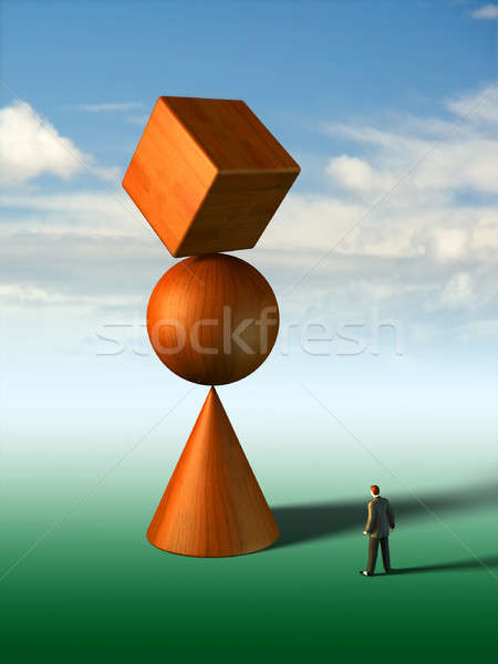 Impossible equilibrium Stock photo © Andreus