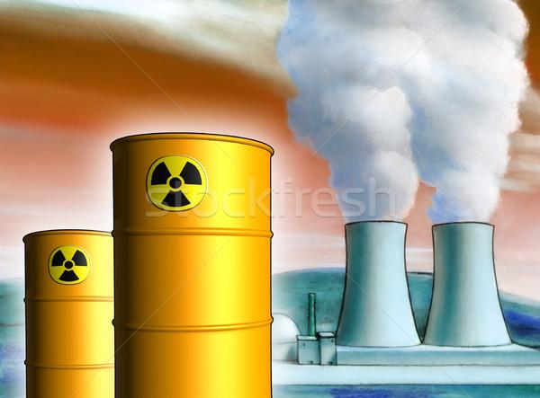 Toxic waste Stock photo © Andreus