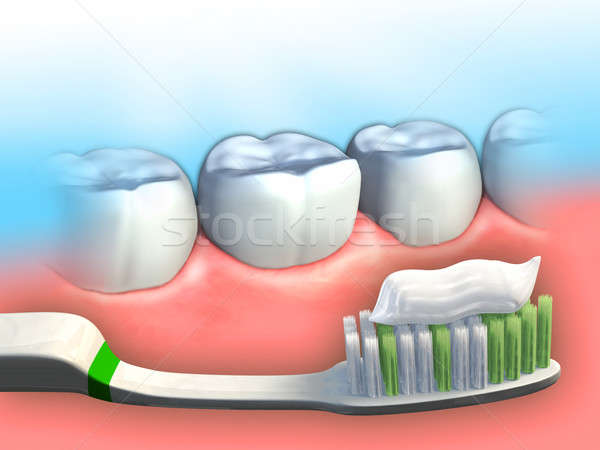 Dental hygiene Stock photo © Andreus