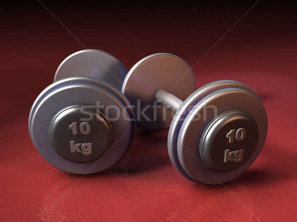 Weights Stock photo © Andreus