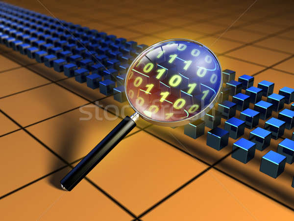 Code inspection Stock photo © Andreus