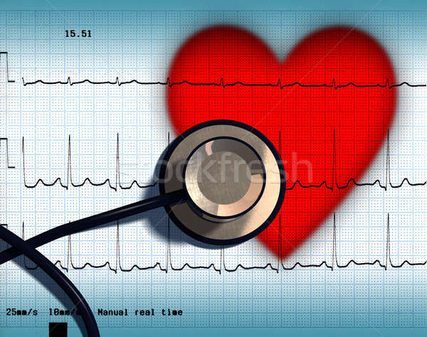 Heart health Stock photo © Andreus