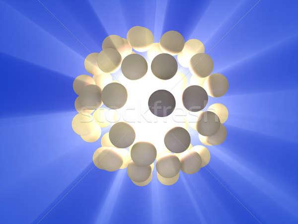 энергии сфере cg иллюстрация аннотация Сток-фото © Andreus