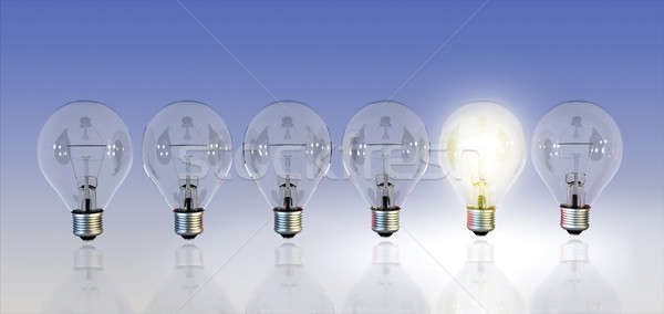 Light bulbs Stock photo © Andreus