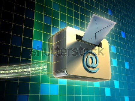 Internet concept Stock photo © Andreus