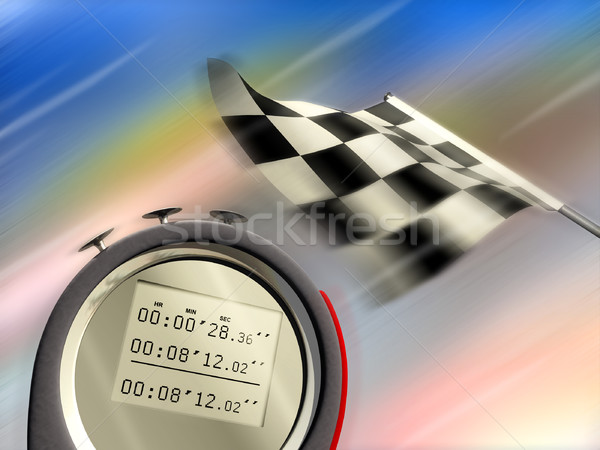 Stock photo: Speed
