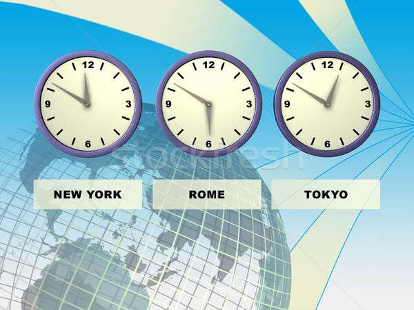 World time Stock photo © Andreus