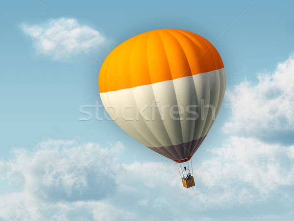 Hot air baloon Stock photo © Andreus
