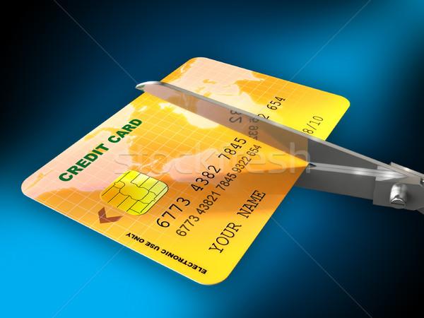 Cutting expenses Stock photo © Andreus