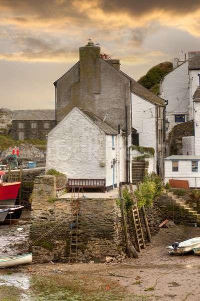 Cornish harbour, England Stock photo © andrewroland