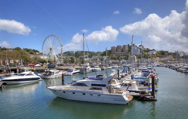 Torquay Harbour, Devon Stock photo © andrewroland