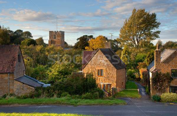 Warwickshire village Stock photo © andrewroland