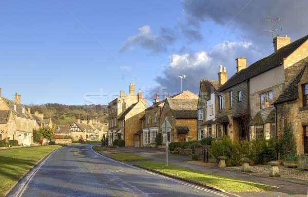 Broadway dorp reizen vakantie Engels Verenigd Koninkrijk Stockfoto © andrewroland