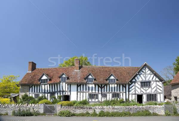 Mary Arden's house Stock photo © andrewroland