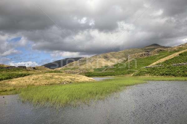 Озерный край гор ходьбе праздник походов скалолазания Сток-фото © andrewroland
