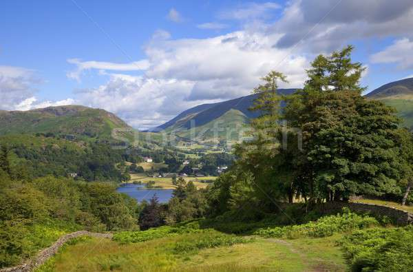 été lake district montagnes Angleterre vue tourisme Photo stock © andrewroland