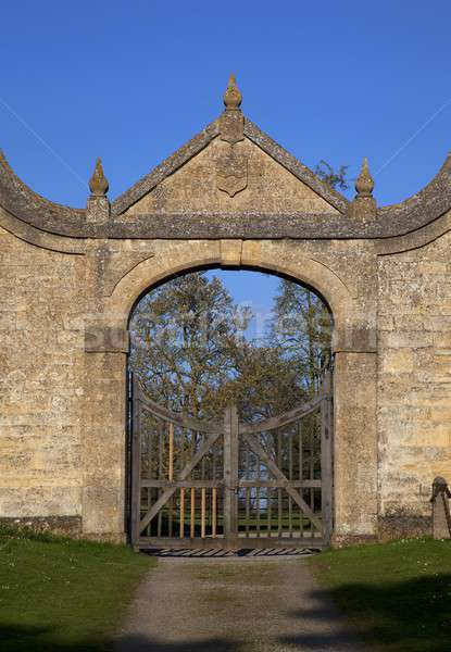The Gatehouse at Chipping Campden Stock photo © andrewroland