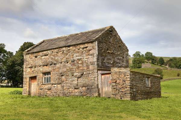 Сток-фото: области · сарай · Йоркшир · деревне · Англии · фермы