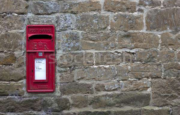 Post box background Stock photo © andrewroland