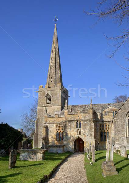 église printemps hiver Europe religion Angleterre Photo stock © andrewroland
