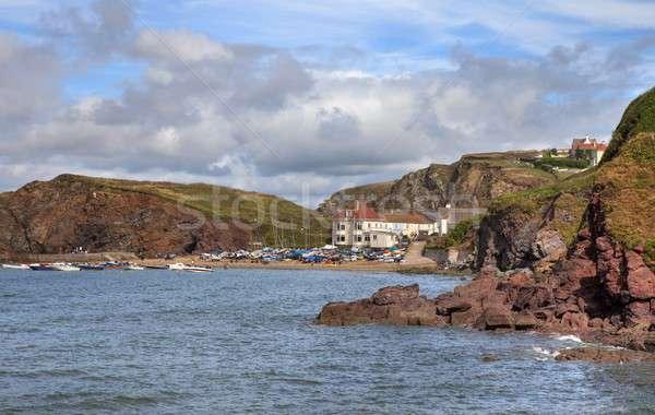 Hope Cove, Devon Stock photo © andrewroland